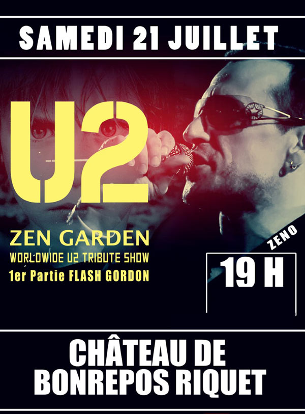TRIBUTE BAND U2 ZEN GARDEN