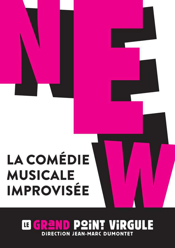 NEW - COMEDIE MUSICALE IMPROVISEE
