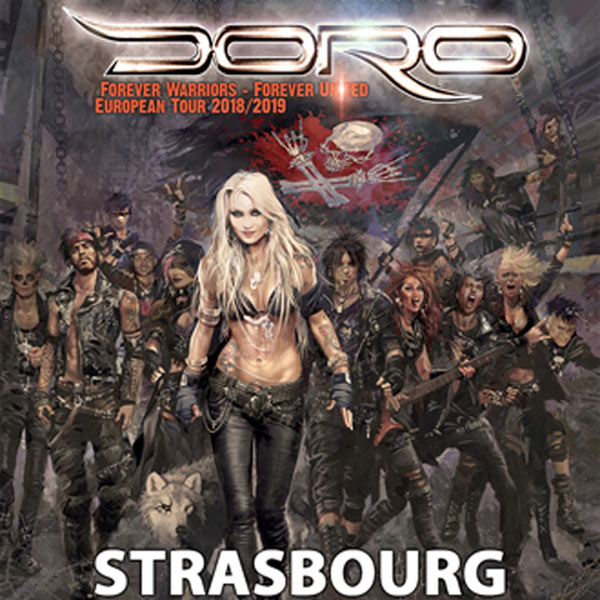 DORO « FOREVER WARRIORS -FOREVER