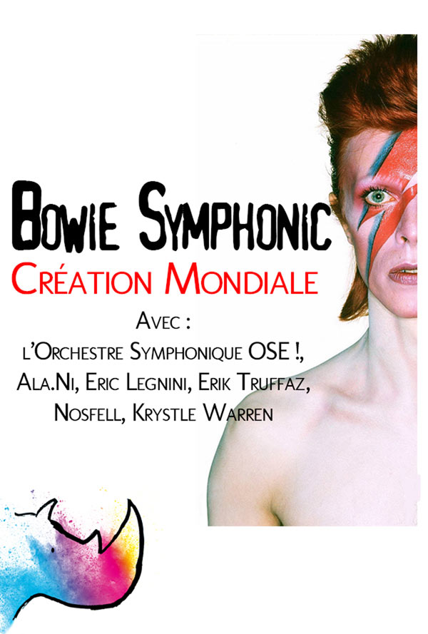 BOWIE SYMPHONIC - CREATION MONDIALE