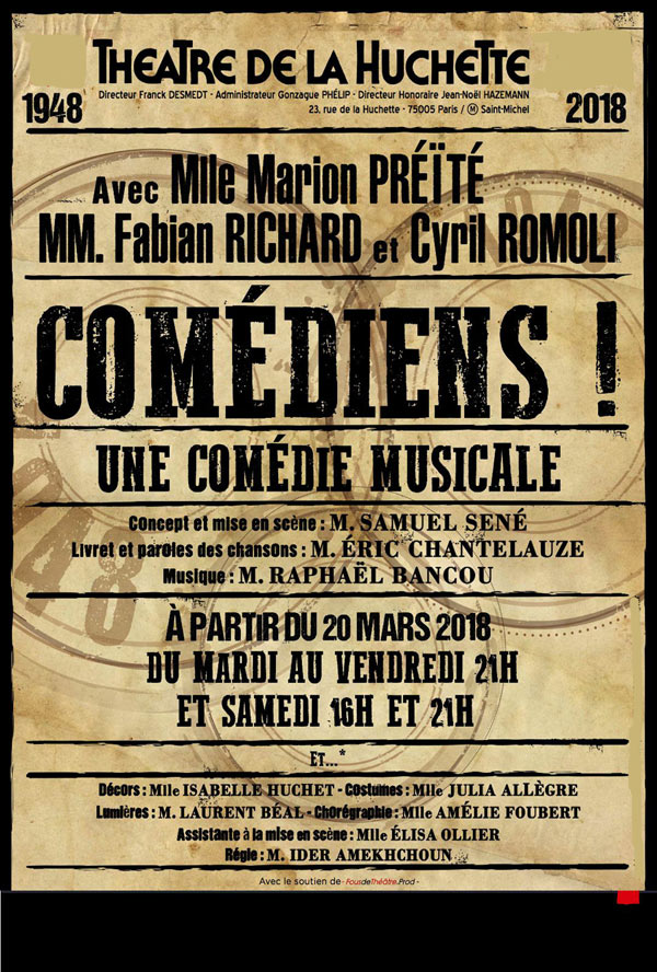 COMEDIENS !