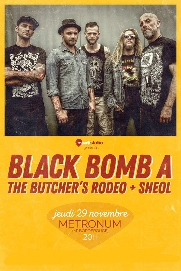 BLACK BOMB A + THE BUTCHER'S RODEO