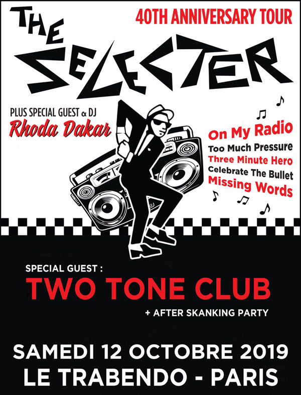 THE SELECTER 40TH ANNIVERSARY TOUR