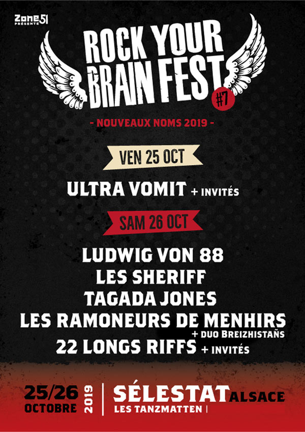 ROCK YOUR BRAIN FEST #7