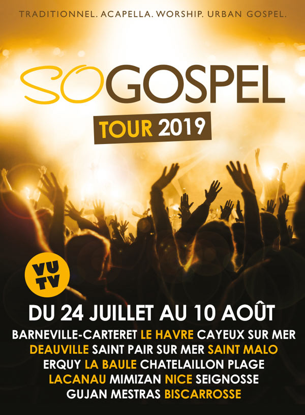 SO GOSPEL TOUR 2019 - BISCAROSSE