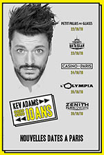OLYMPIA PACKAGES KEV ADAMS