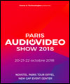 Réservation PARIS AUDIO VIDEO SHOW 2018