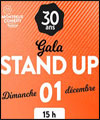 Réservation GALA STAND UP
